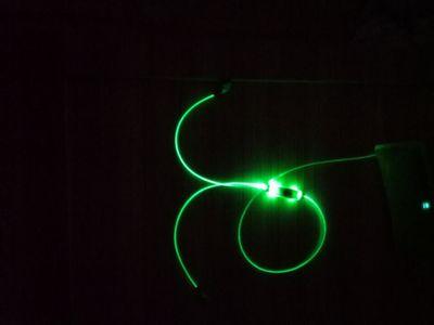 最新款光纤发光耳机