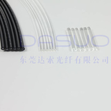 Optical fiber guide rod; Optical fiber guide column.